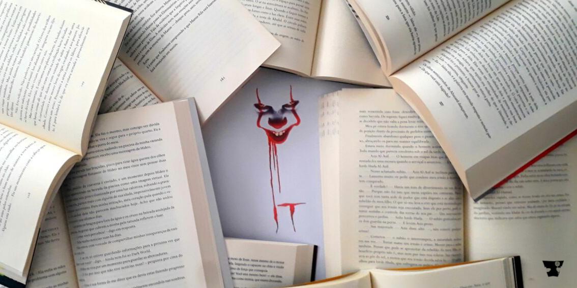 It - livro e adaptação cinematográfica Blog Livros de Açúcar